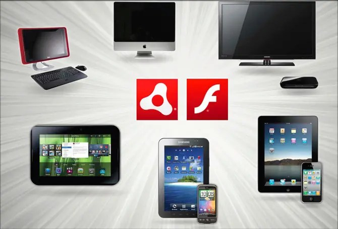 Aplicaciones multidispositivo - multipantalla con la Plataforma Flash