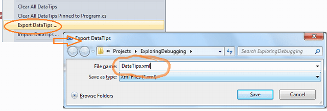 How to Import Export Data Tips in Visual Studio 2010 ? - Daily