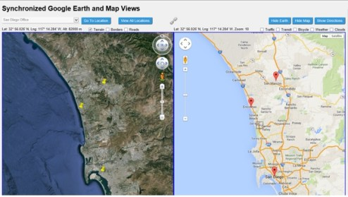 Synchronized Google Earth and Map Views   CodeProject Introduction