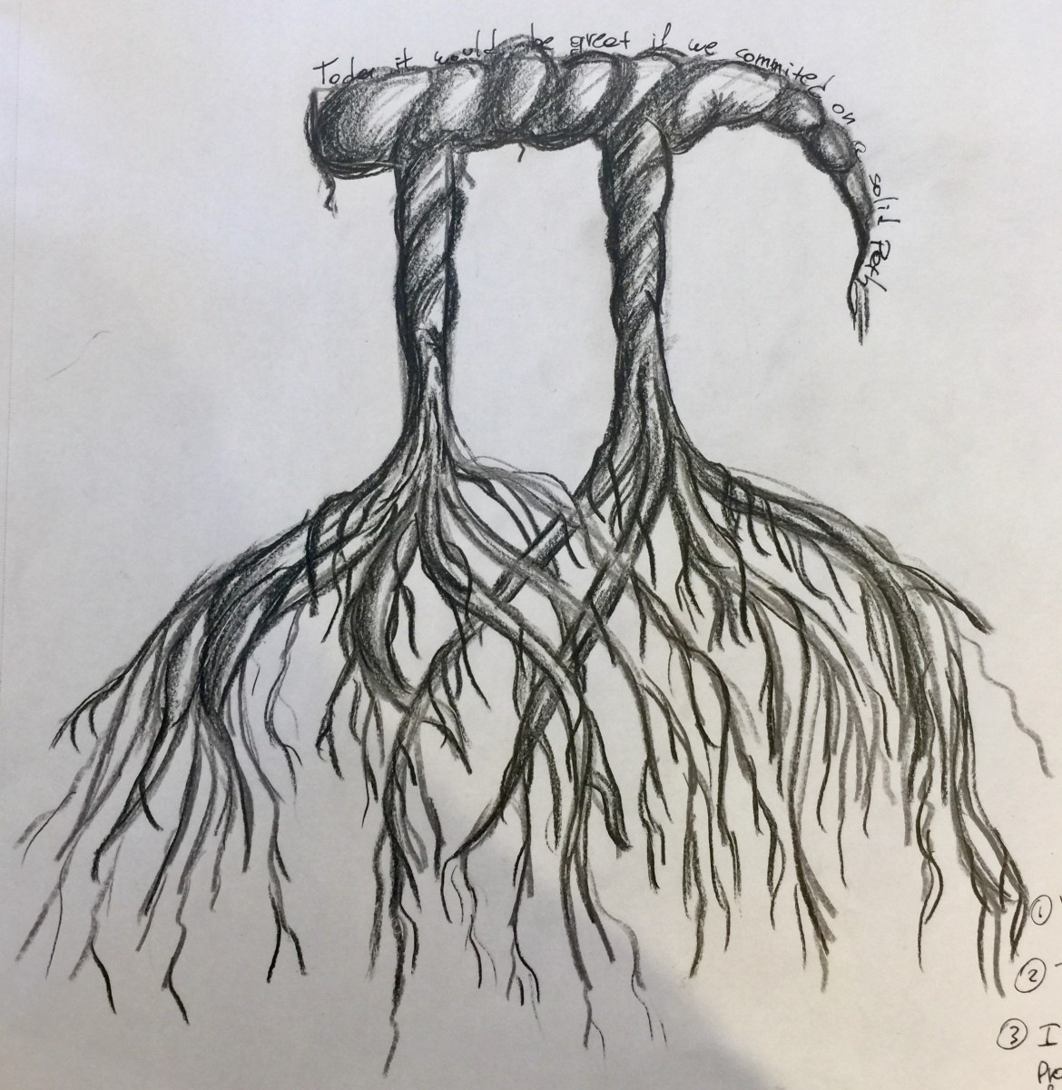 IMG_6078 Doodle Tuesday: Pi Roots doodle art