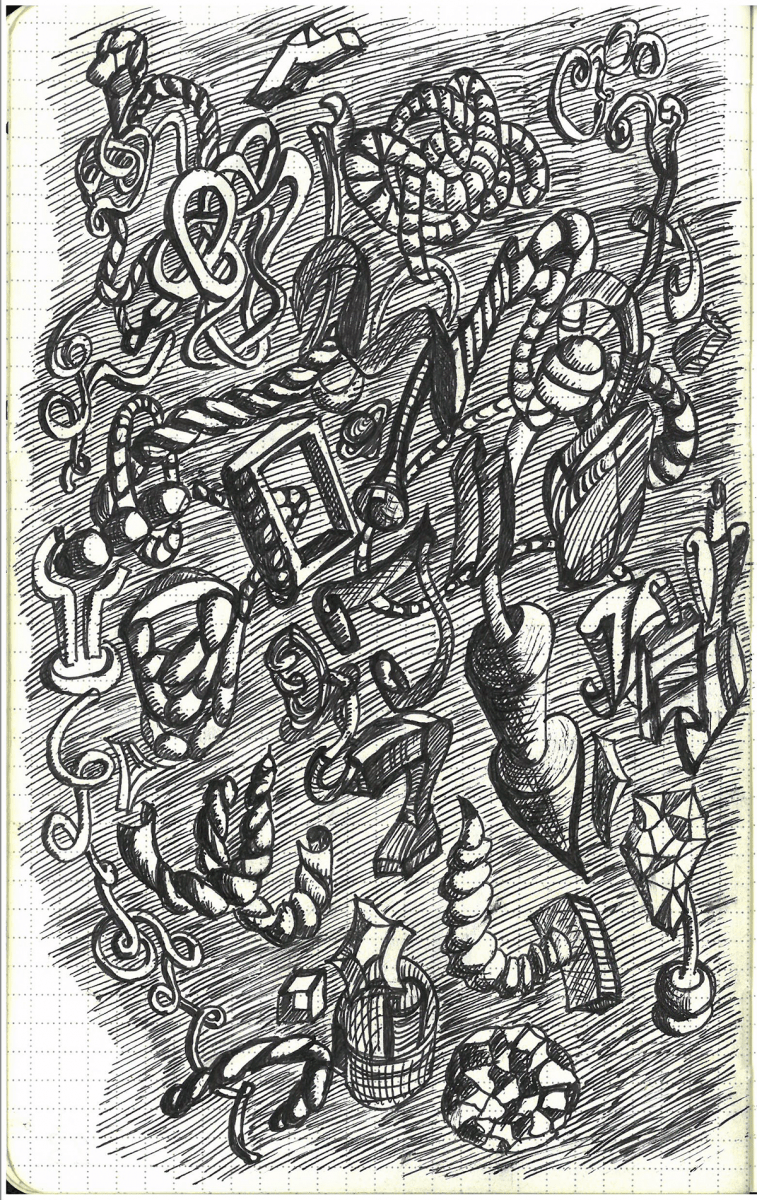 objects Doodle Tuesday: Objects doodle art