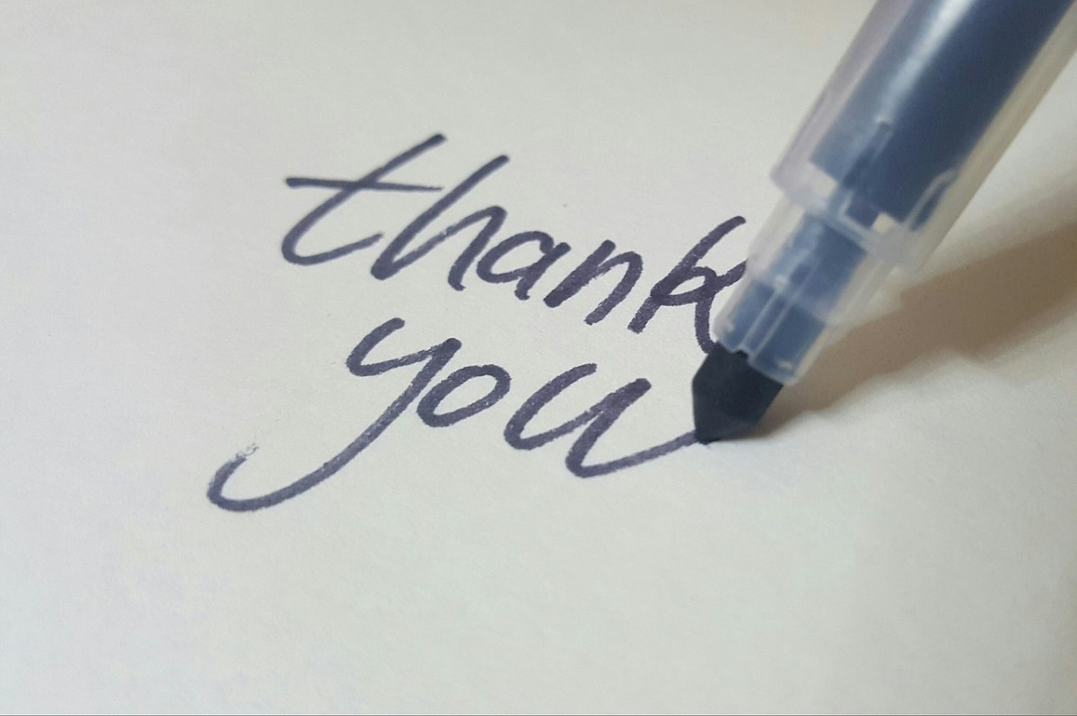 thankyou How To Deal With Praise mini-post advice