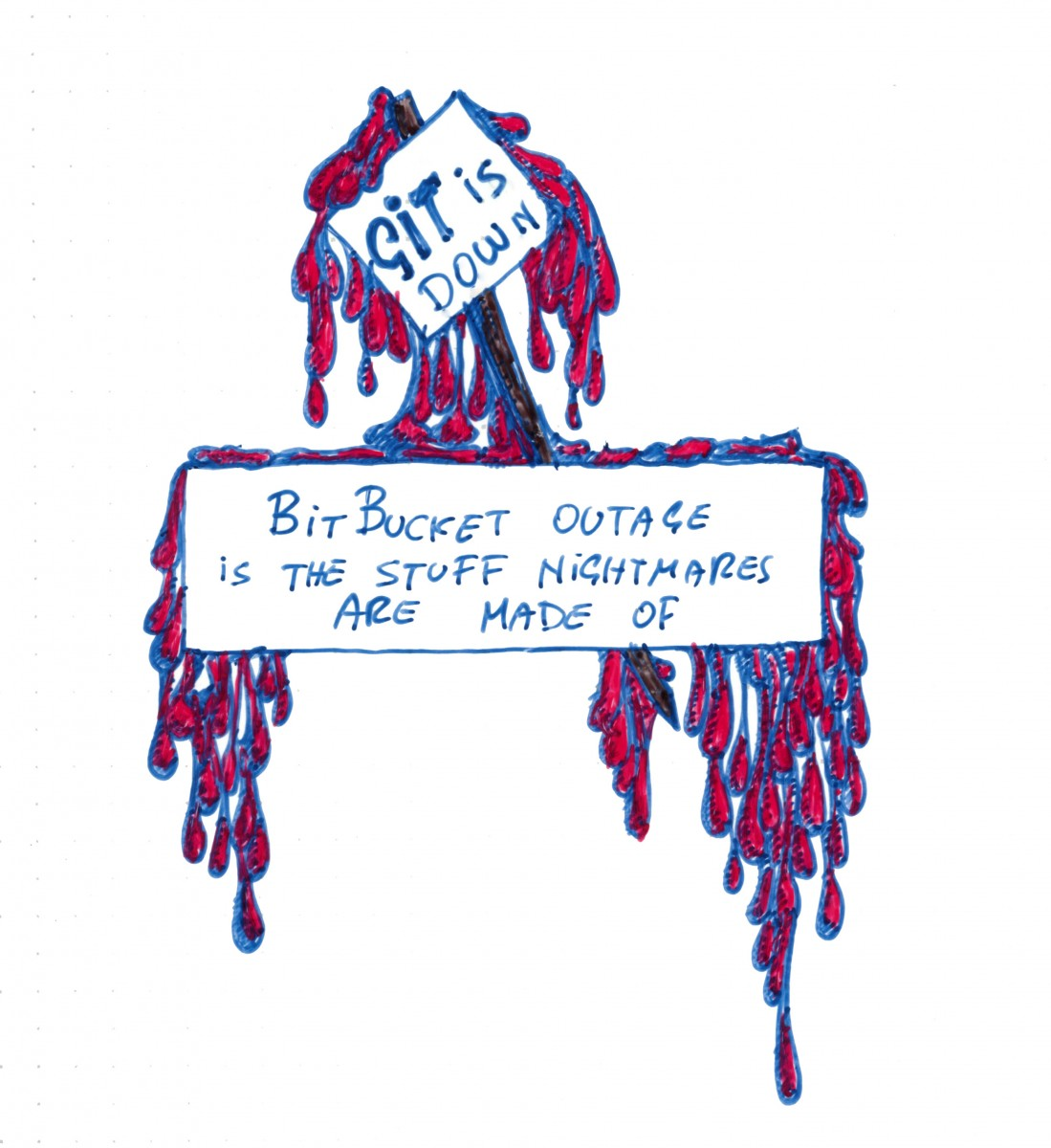 bitbucketdown-doodle Doodle Tuesday: The Stuff of Nightmares doodle advice