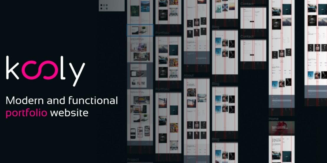 Kooly - Creative Portfolio Agency WordPress Theme