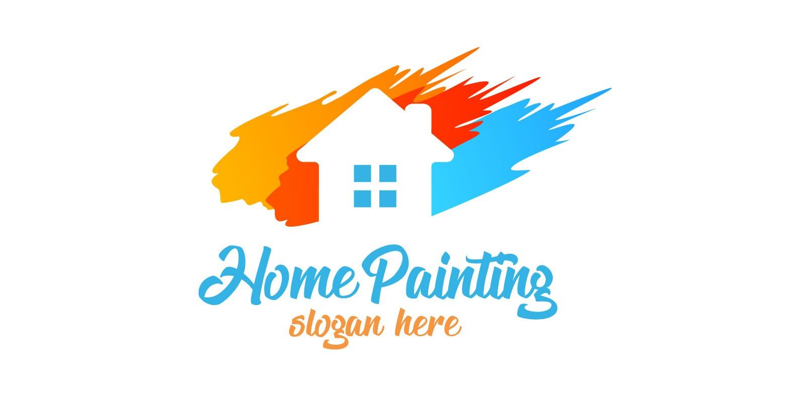 Real Estate Painting Logo By Denayunecs