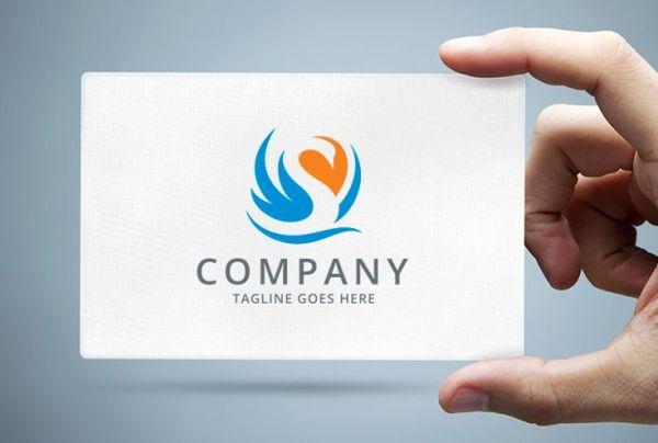 Swan Lake Logo Template Codester