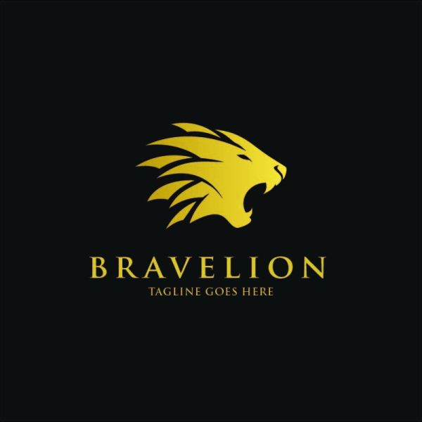Brave Lion Logo Template Codester