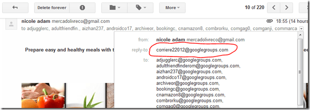 Act Now To Stop Being Spammed Via Google Groups Thu 24 May 2012 Blog Codestore