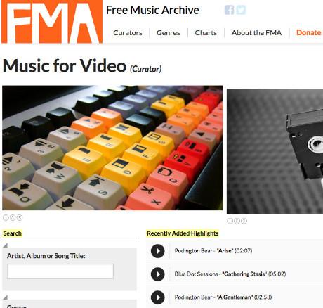 Musique libre de droit vidéo