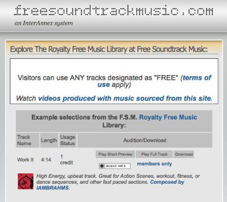 Musique gratuite pour montages vidéo