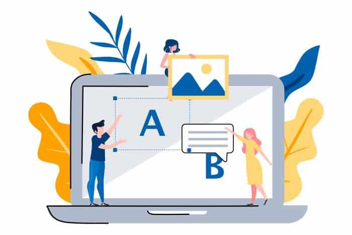 Google Optimize AB test
