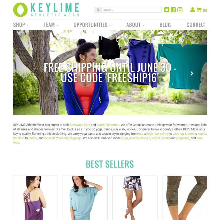 KEYLIME Athletic Wear