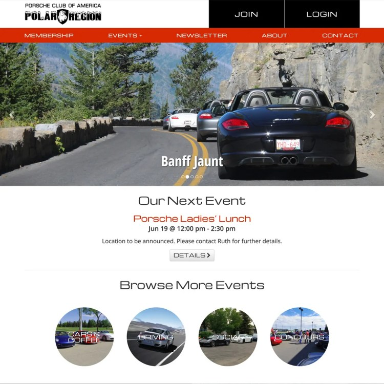 Porsche Club of America Polar Region