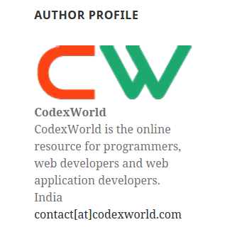 custom-wordpress-widget-author-profile-by-codexworld