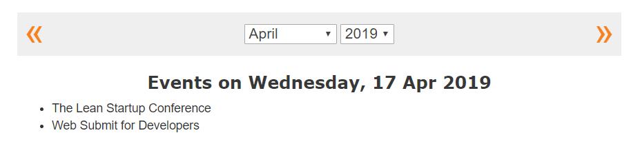 Build an Event Calendar using jQuery, Ajax, PHP and MySQL