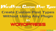 create-custom-post-types-in-wordpress-without-plugin-codexworld