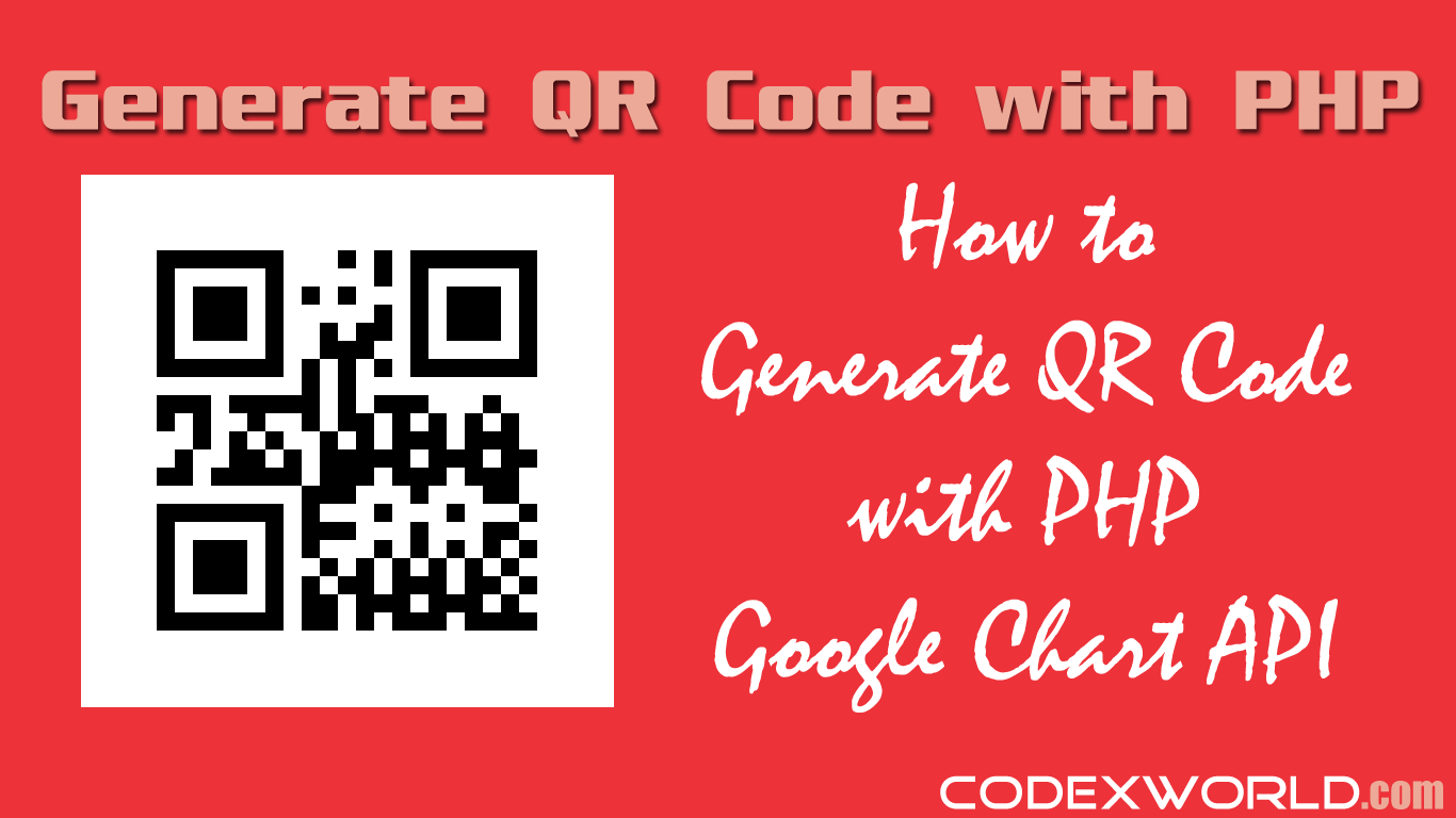 How To Generate Qr Code With Php Using Google Chart Api