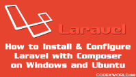 laravel-tutorial-for-beginners-installation-configuration-codexworld