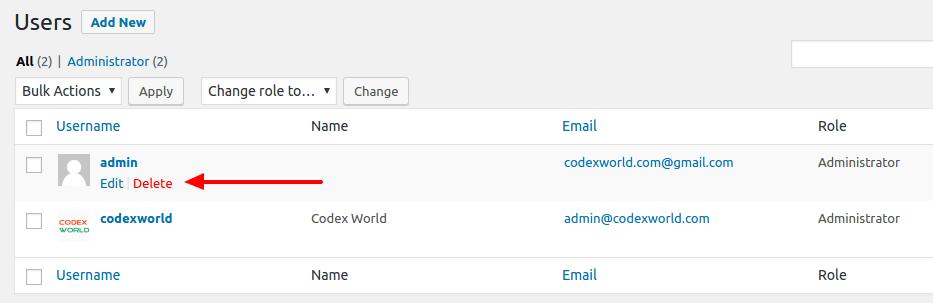wordpress-admin-delete-user-codexworld