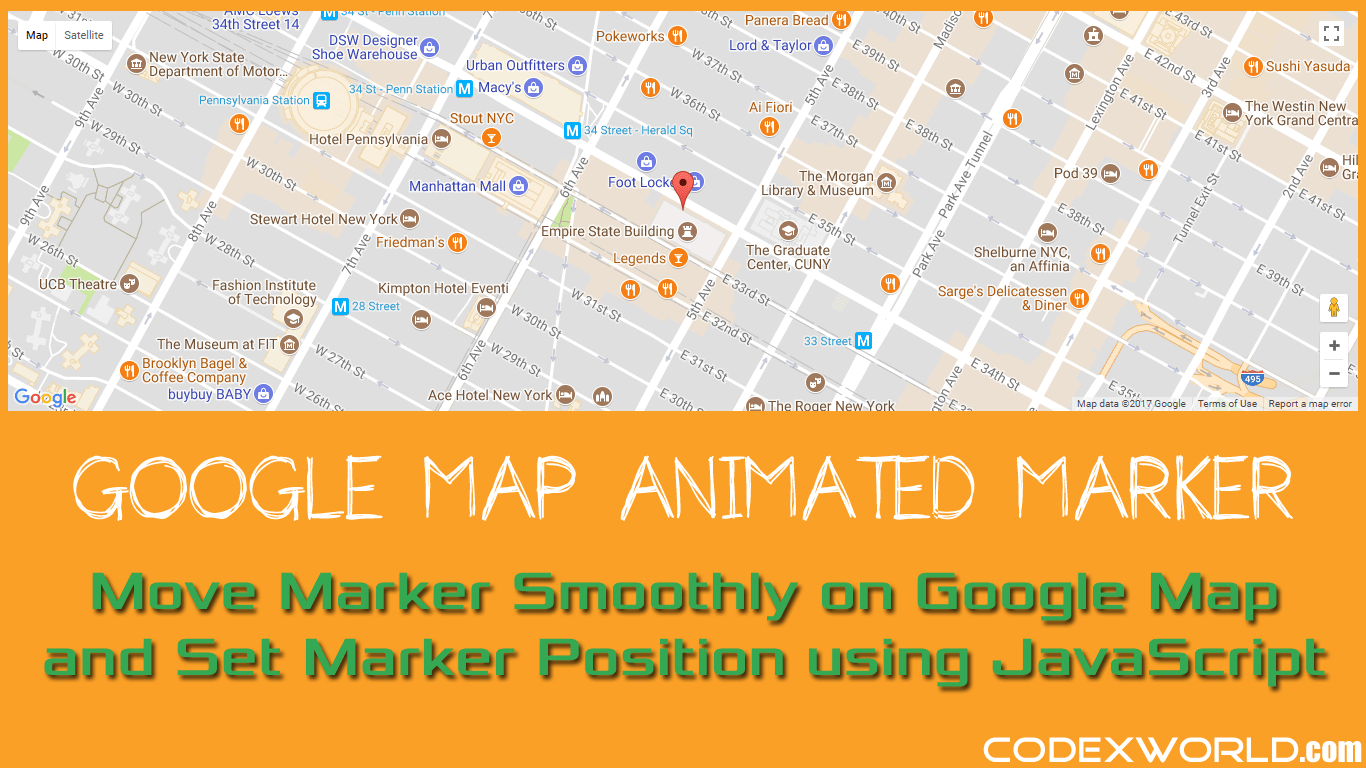 How to move marker smoothly on google map using javascript codexworld gumiabroncs Gallery