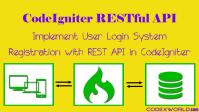 CodeIgniter (PHP Framework) Tutorials - CodexWorld