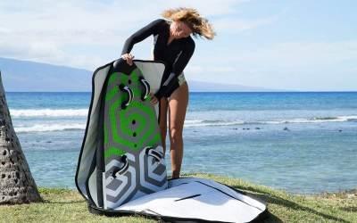 Sport et mobilité : la technologie gonflable au secours de la planche à voile ?