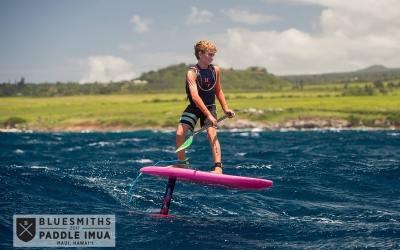 Finn Spencer, 13 ans, symbole du sport nautique de demain