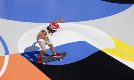 Associer l'art au sport pourrait aller plus loin que le seul effet graphique
