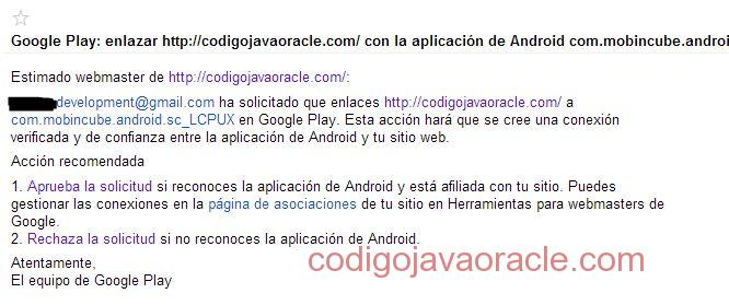webmaster tools android