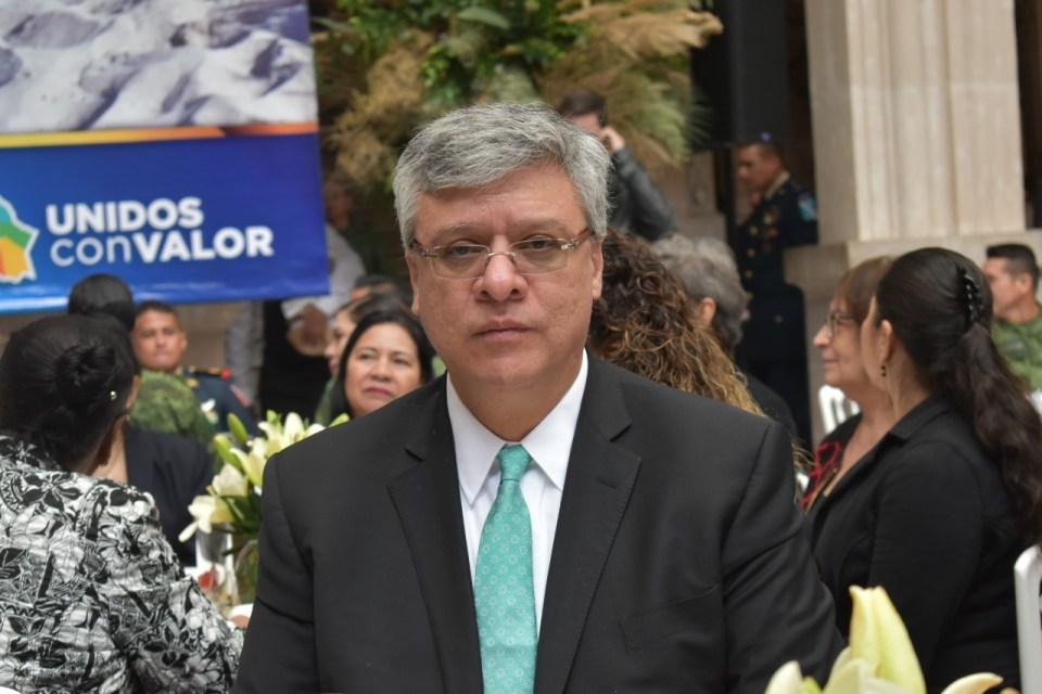 Emilio García Ruiz, titular de la Secretaría de Seguridad Pública