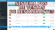 software punto de venta para restaurantes PHP