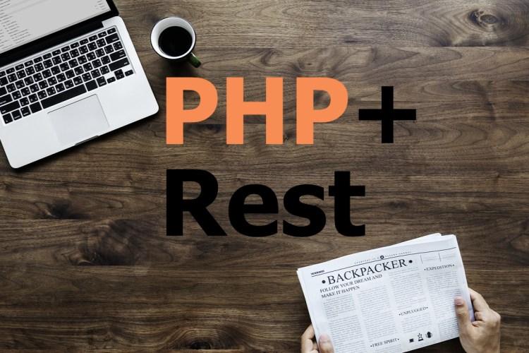 Com usar restful en php