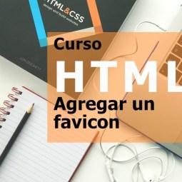 Curso html - agregar un favicon