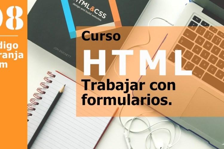 Curso html, formularios