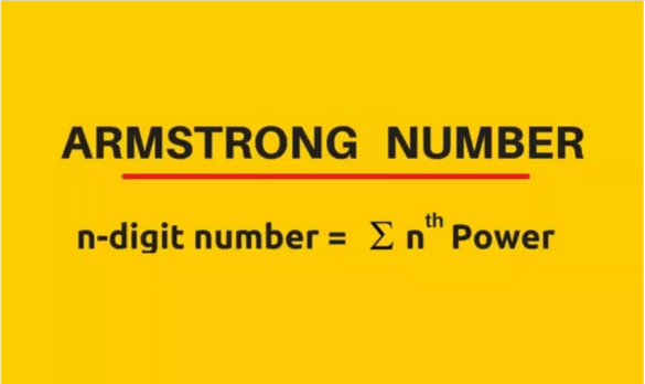 Armstrong Number Formula in Mathematical Expression for Calculation Armstrong in C Programming