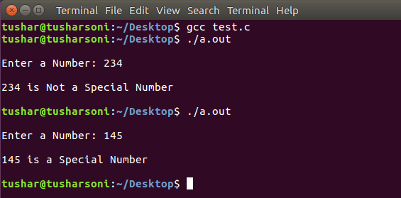 Check Special Number in C Programming Language