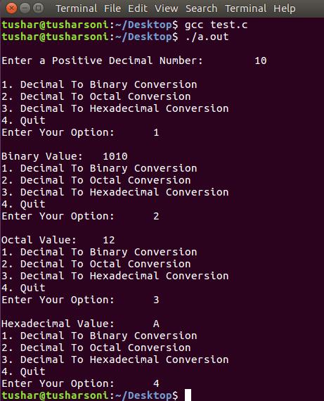 inbuilt function to convert decimal to binary in c++