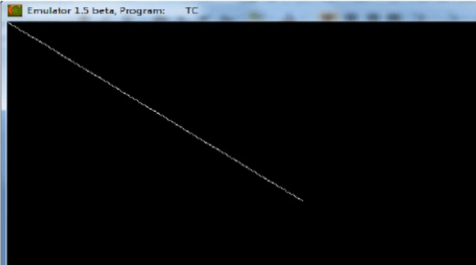 Implement Bresenham Line Drawing Algorithm in C Programming using Functions with Output and Explanation