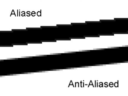 Gupta Sproull Algorithm for Anti aliased line in C programming