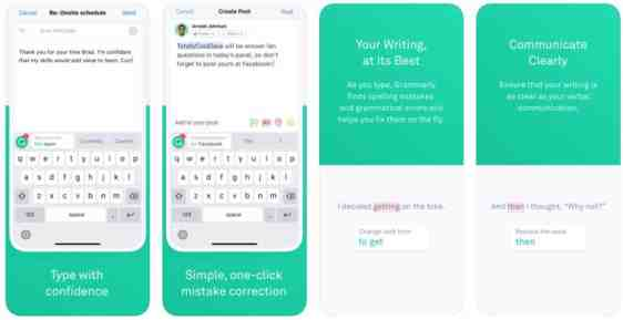 Download Grammarly Keyboard For Your iOS Device