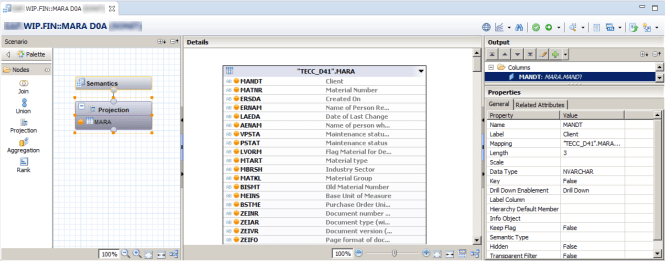 calculation view in sap hana