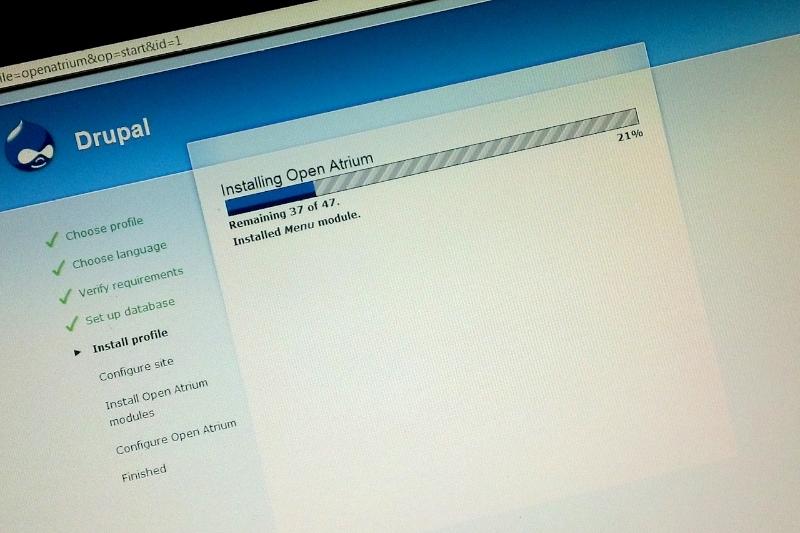 Raspberry Pi Home Document Management System with Open Atrium