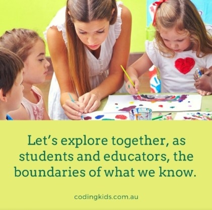 Let's explore together, as students and educators, the boundaries of what we know.