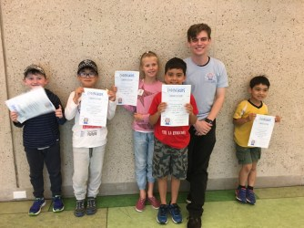 kids with their coding kids certificate