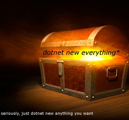 dotnet new everything