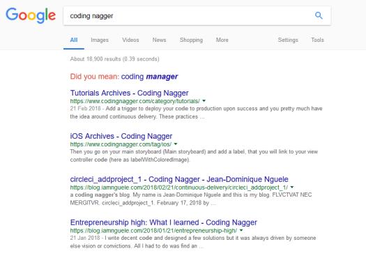 coding nagger seo
