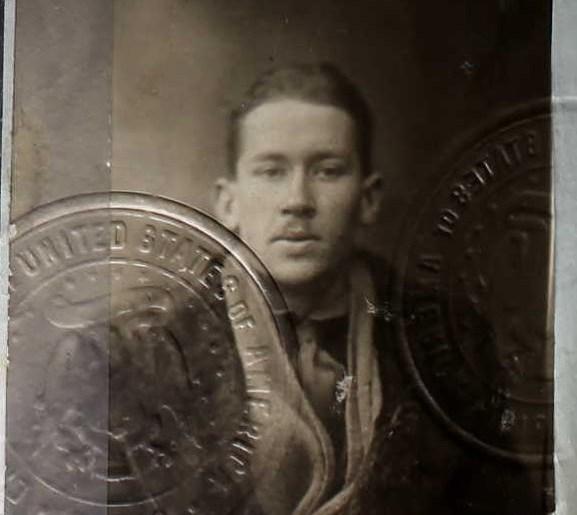 ee cummings, passport, 1917