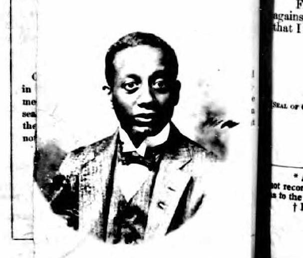 Alain Locke, passport, 1922