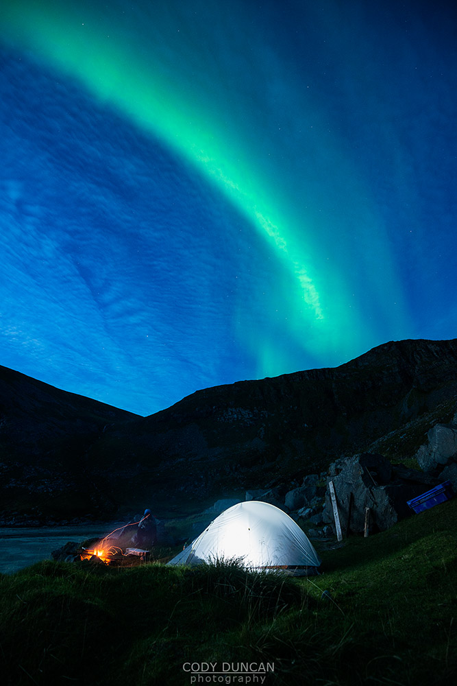 Northern Lights Norway August