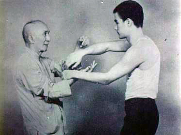 Bruce Lee and Ye Wen